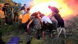 ฮ.รอง มทภ.3 เกิดอุบัติเหตุตกที่พะเยา เสียชีวิตยกลำ 9 ราย (ชมคลิป)