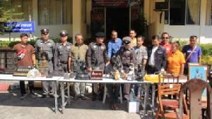 ตำรวจอุดรธานีจับเซียนพนันยกเค้าโจรกรรมพระพุทธรูปเก่าแก่