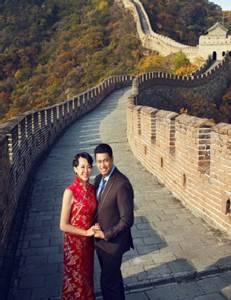"""หวานอีก! พรีเวดดิ้ง """"โค้ชอ๊อต-เฝิง คุน"""" ที่จีน"""