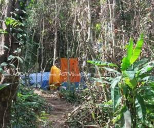 สนธิกำลังจับ 19 พระเขมร ตั้งเต็นท์ในป่าละเมาะที่ภูเก็ตหลับนอน