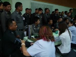 ตำรวจบุรีรัมย์ร่วมบริจาคโลหิต ถวายในหลวง 5 ธันวามหาราช
