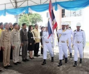 ทัพเรือภาคที่ 3 จัดพิธีสมโภชธงชัยเฉลิมพลยิ่งใหญ่