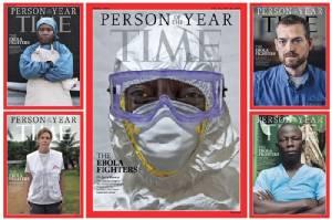 นิตยสารไทมส์ยกผู้ต่อสู้เชื้ออีโบลาเป็นบุคคลแห่งปี