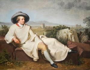 Tischbein กับภาพเหมือนของปราชญ์ Goethe