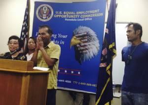 """ศาลสหรัฐฯ สั่งบริษัทจัดหางานจ่ายค่าเสียหาย 286 ล้านแก่ """"แรงงานไทย"""" ที่ถูกเอาเปรียบในฮาวาย"""