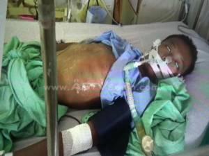 """พ่อร้องสื่อโวยคุกตรังไม่ยอมให้ลูกชายป่วย """"ธาลัสซีเมีย"""" เข้าถ่ายเลือด จนโคม่าเข้าไอซียู"""