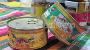 """""""เห็ดโคน–ไข่มดแดง"""" บรรจุกระป๋อง หนึ่งเดียวในไทย ทำเท่าไร ก็ขายเกลี้ยง"""