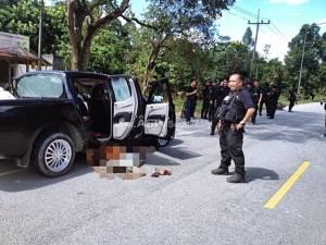 ทหารพรานวิสามัญโจรใต้ตาย 2 ศพที่ อ.เจาะไอร้อง (ชมคลิป)
