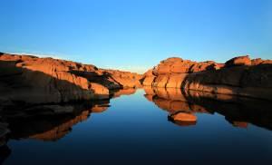 """มหัศจรรย์ธรรมชาติน่าทึ่ง...ชวนตะลึง โบกสวย หินงาม ที่ """"สามพันโบก""""/ปิ่น บุตรี"""