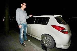 """อีกแล้ว! คนร้ายทุบกระจกฉกทรัพย์ในรถ""""ปิงปอง"""" นักแต่งเพลงชื่อดัง"""
