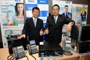 'NEC' กระตุ้นตลาดโทรศัพท์องค์กรหวังปีนี้โต 20%