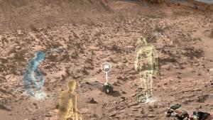 สุดล้ำ! อุปกรณ์ช่วยทำงานเสมือนอยู่บนดาวอังคาร