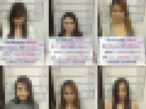 ตร.เมืองภูเก็ตกวาดจับอาชญากรรม รวบ 10 สาวค้าประเวณีในสวนสาธารณะ