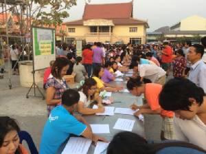 ชาวบ้านหนองไม้แดง-นาป่า รวมตัวอีกครั้งค้านสร้างถนนเลี่ยงเมืองชลบุรี หลังโครงการชะลอไปกว่า 5 ปี