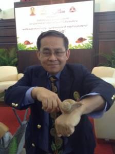 เปิดตัวสารความงามจากเมือกหอยทากไทยสู้เกาหลี