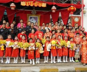 เทศบาล ต.ปะลุรู นราธิวาส เปิดงานเทศกาลตรุษจีนล่วงหน้า (ชมคลิป)