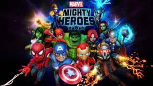 """Marvel Mighty Heroes""(iOS-Android) เกมบู๊แหลกของเหล่าฮีโร่มาร์เวล"