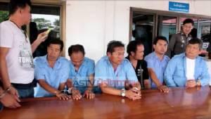 ตร.กรุงเก่ารวบ 8 แท็กซี่ ลักลอบขนแรงงานต่างด้าว 62 คนเข้าไทย (ชมคลิป)