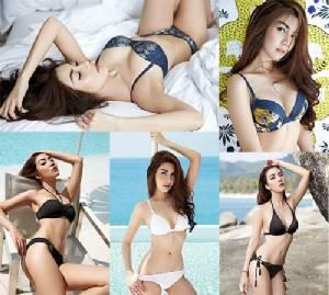 ระอุตั้งแต่เฟสแรก! 5 สาวเผ็ดจี๊ดขึ้นปกนิตยสารประชันบิกินี งัดกลยุทธ์เปลือยบน ก้นแลบ ใครร้อนฉ่าสุด?