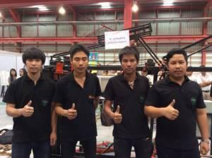 ไม่กลัวร้อน-ไม่อู้...ประลองหุ่นยนต์สร้างบ้านครั้งแรกในไทย