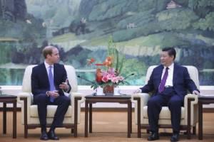 ชมภาพเจ้าชายวิลเลียมเสด็จเยือนจีนครั้งแรก มุ่งฟื้นฟูความสัมพันธ์-แลกเปลี่ยนทางวัฒนธรรม