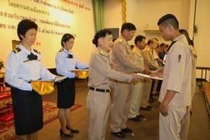 ทร.มอบประกาศนียบัตรทหารกองประจำการผ่านการฝึกอบรมอาชีพ