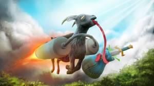 """ผู้สร้าง Goat Simulator เตรียมส่ง """"เจ้าแพะจอมกวน"""" ป่วนเกม Dota 2"""