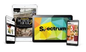 """""""Spectrum"""" ดิจิตอลแมกกาซีน 2 ภาษา """"ฟรีดาวน์โหลด"""" เนื้อหา-ภาพ-เสียง-วิดีโอ"""