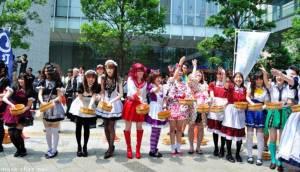 กินลมชมวิวที่ถนนคนเดินกลางกรุงโตเกียว