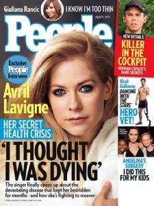 """""""อาฟริล ลาวีน""""เผยความจริงสาเหตุป่วยหนักนอนจมเตียงเกือบตายกว่า 5 เดือน"""
