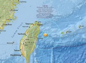 """ระทึก! แผ่นดินไหว 6.6 เขย่า """"ไต้หวัน-โอกินาวา"""" ญี่ปุ่นยกเลิกเตือนสึนามิแล้ว"""