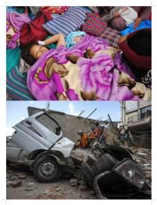 In Pics : เนปาลแถลงยอดเสียชีวิตแผ่นดินไหวรอบใหม่ไม่ต่ำกว่า 65 บาดเจ็บ 1,926 ปาฏิหาริย์คุณแม่วัย 29 คลอดลูกสาวขณะเกิดแผ่นดินไหว