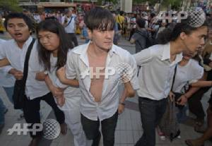 """Detained Thai students """"merely invited for talks"""": police"""