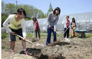 สาวญี่ปุ่นสนใจเรียนทำไร่ทำนา คณะเกษตรศาสตร์ได้รับความนิยมสูงสุด