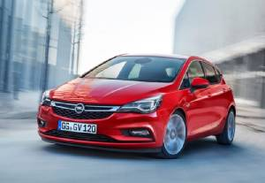Opel Astra ใหม่สดเบาขึ้น 200 กิโลกรัม