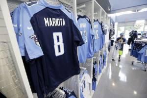 """""""มาริโอตา"""" ครองแชมป์ยอดขายเสื้อ NFL เดือน พ.ค."""