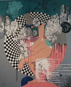"""ภาพวาดของผู้หญิง """"ไม่สมบูรณ์แบบ""""  อรอนงค์ แก้วสมบูรณ์"""