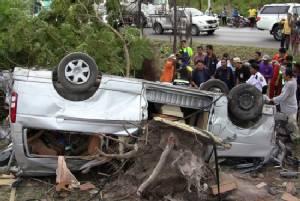 Three Hong Kongers, Thai driver killed in road smash