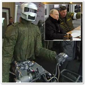 """In Pics & Clips : วินเทอร์ โซลด์เยอร์แห่งไซบีเรีย! บริษัทพัฒนาอาวุธรัสเซียเปิดตัว """"หุ่นยนต์ล่าสังหารประจำกองทัพแห่งอนาคต"""" คาดจะสามารถออกวิ่งได้ภายในสิ้นปีนี้"""
