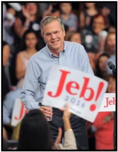"In Pics : ศึกนัดล้างตา บุช VS  คลินตัน!! ""เจบ บุช"" ประกาศลงชิงประธานาธิบดีสหรัฐฯ ""ผมลงสมัครเพื่อชนะเท่านั้น"""