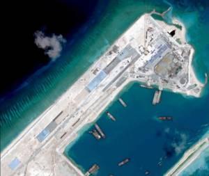 พญามังกรเผย 'ถมทะเลสร้างเกาะเทียม' ในทะเลจีนใต้ ใกล้เสร็จสิ้นในอีกไม่กี่วัน