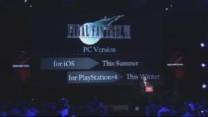 """E3: สแควร์เอนิกส์โชว์โครงการอาร์พีจีใหม่-ส่ง """"ไฟนอล 7"""" ต้นฉบับลง iOS"""