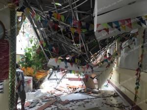 พายุถล่มพัทลุง ต้นไม้ล้มทับนักเรียนตาย 1 เจ็บ 3 ไฟดับทั่วเมือง