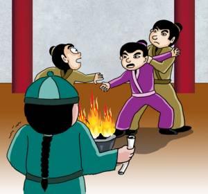 เรื่องชวนหัวในยุคราชวงศ์จีน ตอน ชาติหน้ายอมเป็นบิดาท่าน