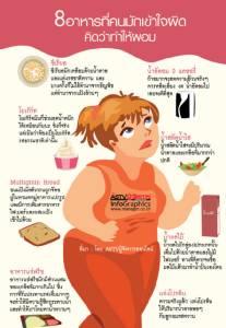 8 อาหารที่คนมักเข้าใจผิด คิดว่าทำให้ผอม