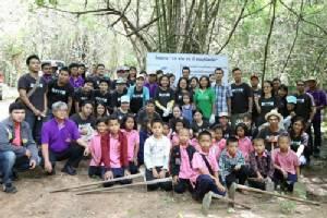 สร้างฝาย 15 แห่ง ป่าชุมชนบ้านคา สกัดภัยแล้ง ถวายสมเด็จพระเทพฯ