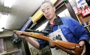 """พลิกกฎหมายควบคุมปืนของญี่ปุ่น รอชี้ชะตา """"คำรณวิทย์"""""""
