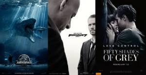 Jurassic/Fast 7 ทำเงินถล่มทลายส่ง Universal Pictures ครองแชมป์ครึ่งปีแรก