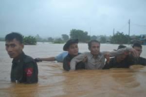 พม่า-ลาวท่วมเละ ส่งสัญญาณปีนี้พระแม่คงคามาแรง