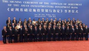 """50 ประเทศลงนามก่อตั้งธนาคาร AIIB """"ไทย"""" รอเซ็นปลายปี จีนยันไม่เอาอำนาจวีโต้"""
